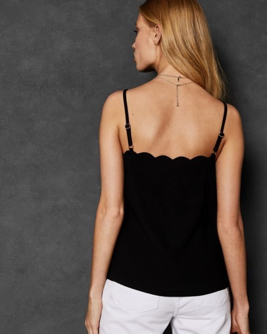 cami, ted baker, black top, dressy top, style, aria boutique, naas, irish online shopping