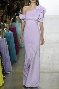 Badgley Mischka Lilac Cocktail Dress
