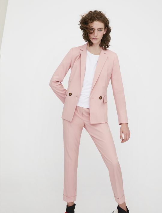 i Blues Powder Pink Blazer