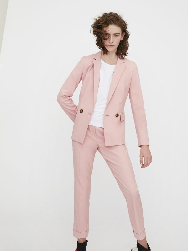 i Blues Powder Pink Blazer