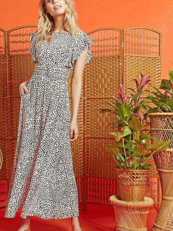 Onjenu Gabriella Gaudi Print Rosie Dress