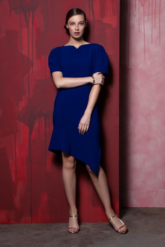 Caroline Kilkenny Royal Blue Belle Dress