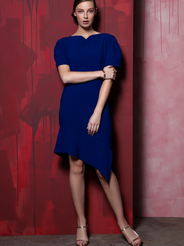 Caroline Kilkenny Royal Blue Belle Dress