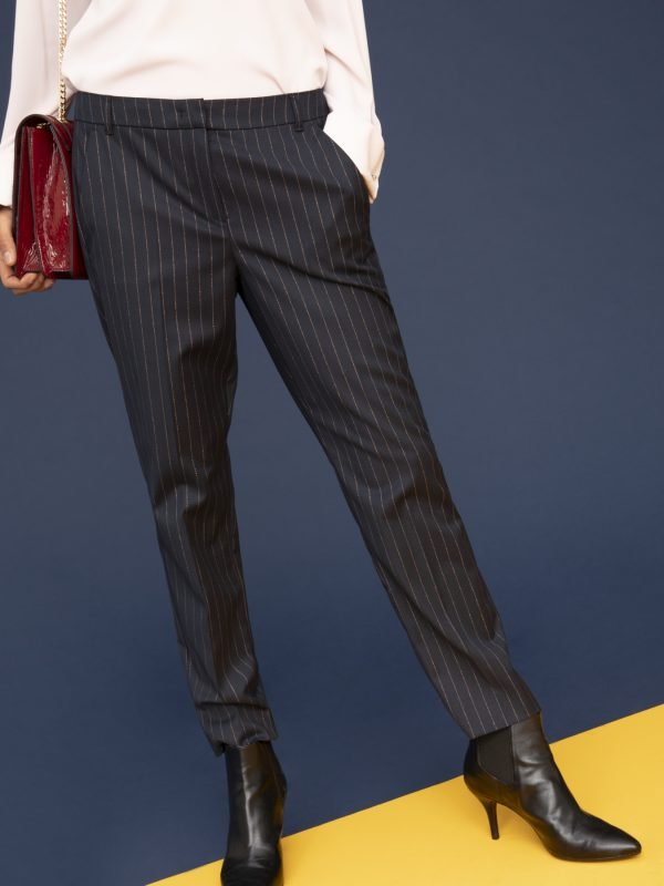 i Blues Nabulus Pinstripe Navy Trouser