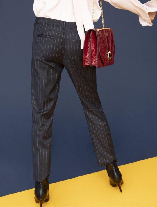 i Blues Nabulus Pinstripe Navy Trouser