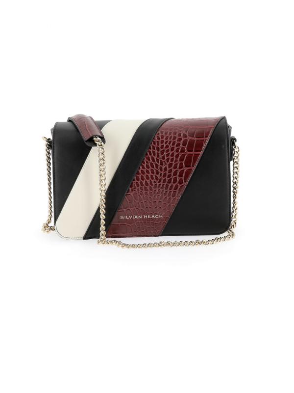 Silvian Heach Black & Red Handbag