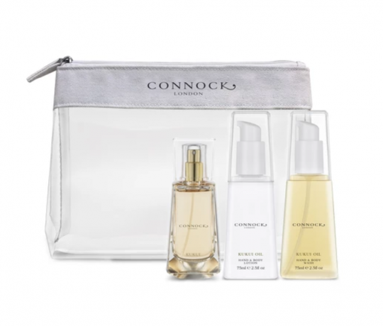 Connock London Kukri Oil Travel Set
