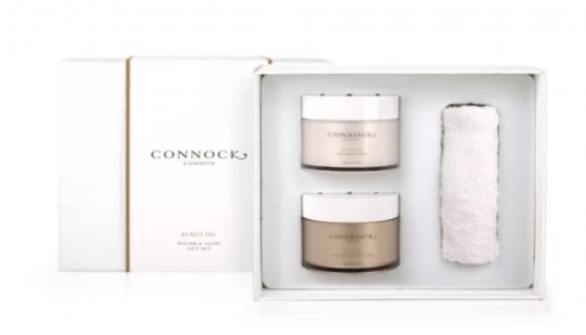 Connock London Kukri Oil Polish & Glow Gift Set