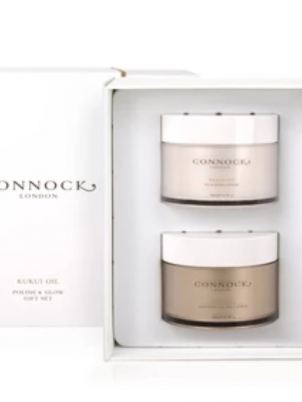 Connock London Kukri Oil Polish & Glow Gift Set