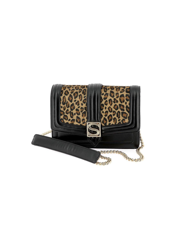 meet 9b05f 017b1 Silvian Heach Leo Leopard Print Handbag