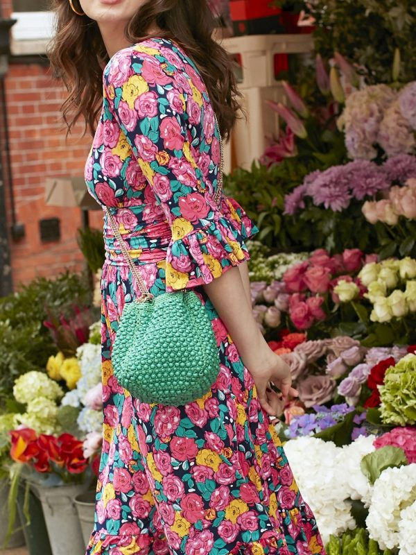 Onjenu Lana Green Handbag