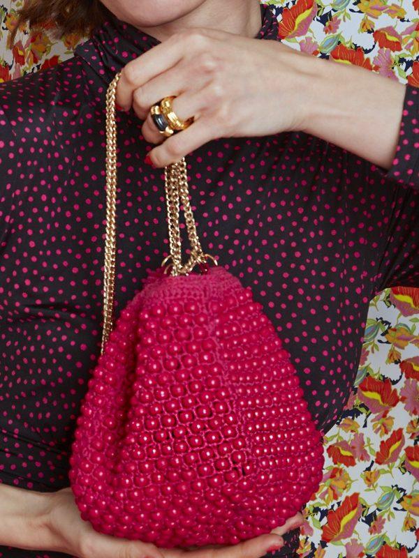 Onjenu Lana Pink Handbag