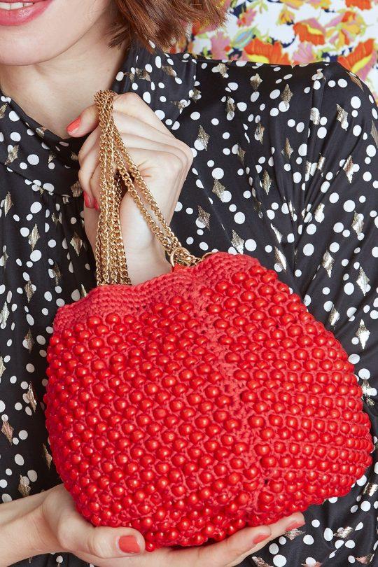 Onjenu Lana RED Handbag
