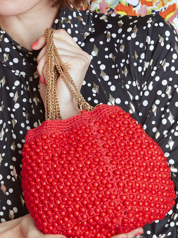Onjenu Lana RED Handbag