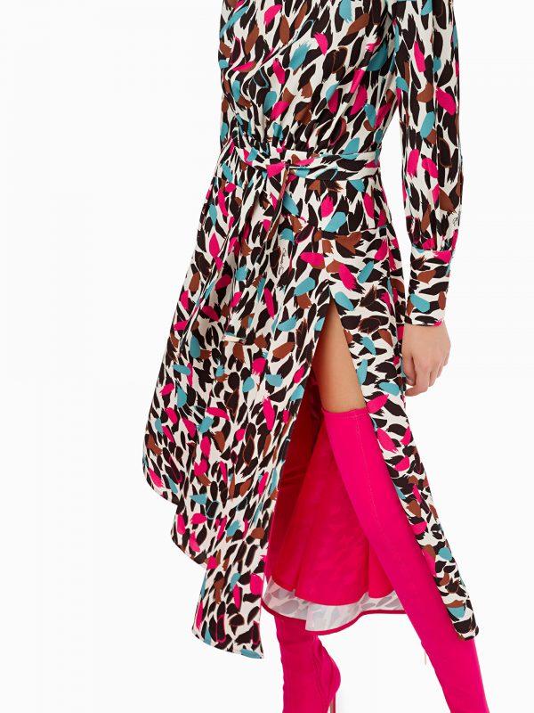 Elisabetta Franchi Multi Print Dress 01