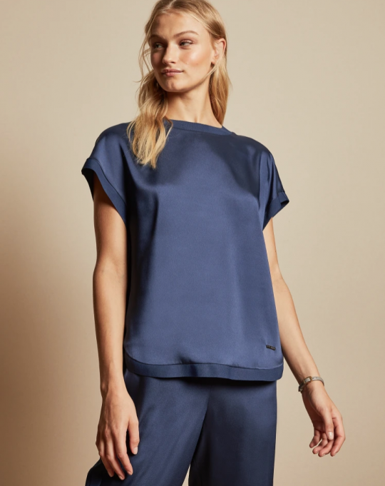 Ted Baker Rozia Blue Top
