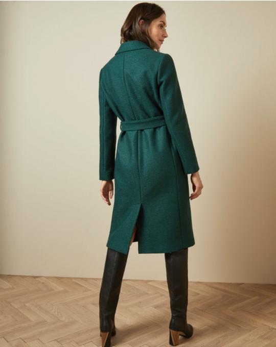 Ted Baker Chelssy Dark Green Coat