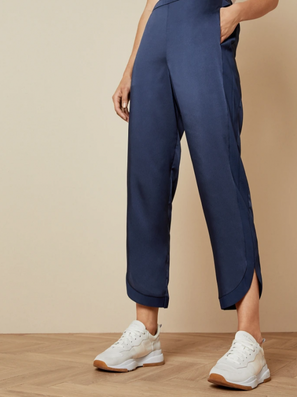 Ted Baker Ginana Metallic Blue Trousers