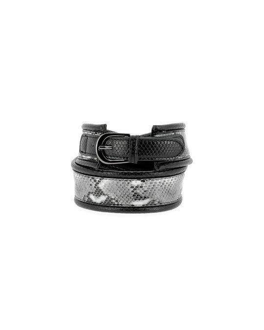 Silvian Heach Python Inspired Belt 01