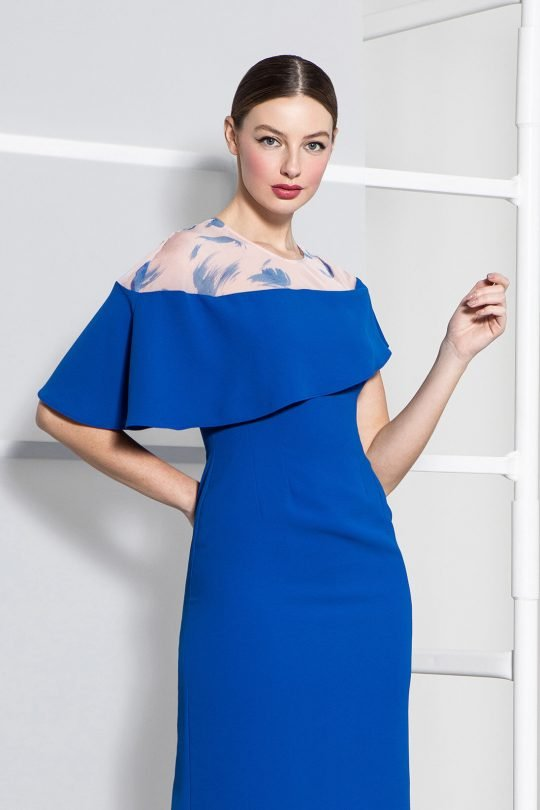 Caroline Kilkenny Ivanna Dress in Blue
