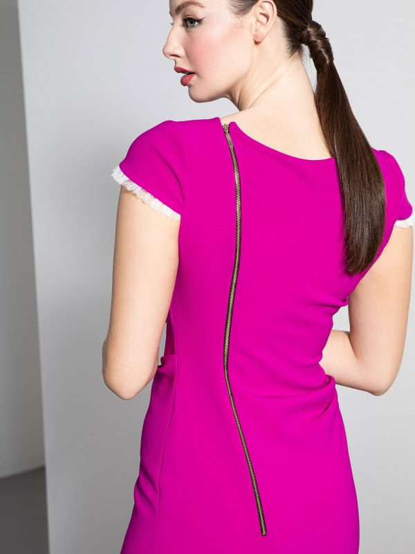 Caroline Kilkenny Noemi Dress in Purple