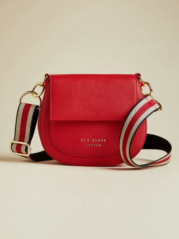 Ted Baker Amali Red Leather Bag
