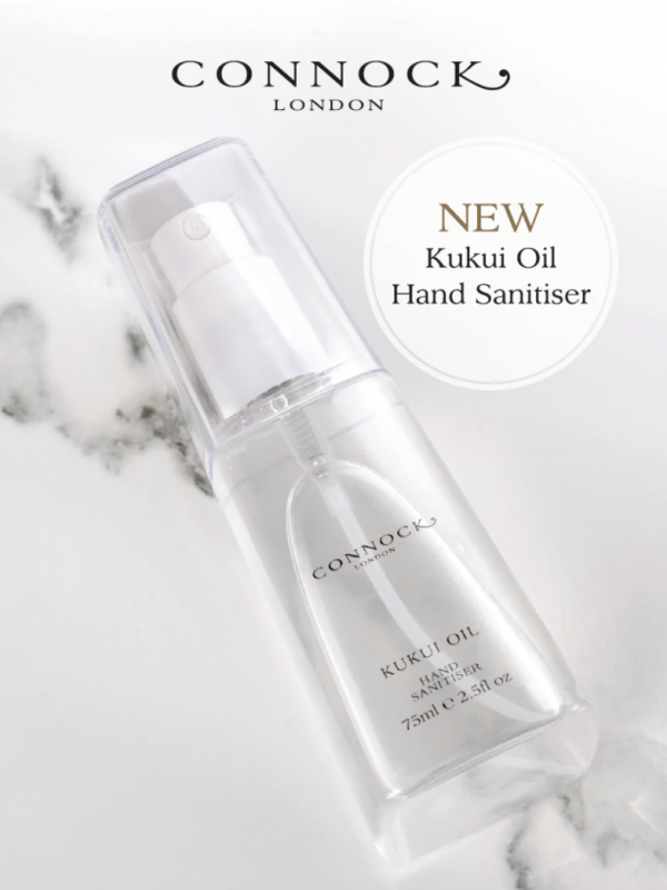 Connock London Kukri Oil Hand Sanitiser