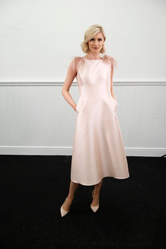 Caroline Kilkenny Evelyn Pink Dress