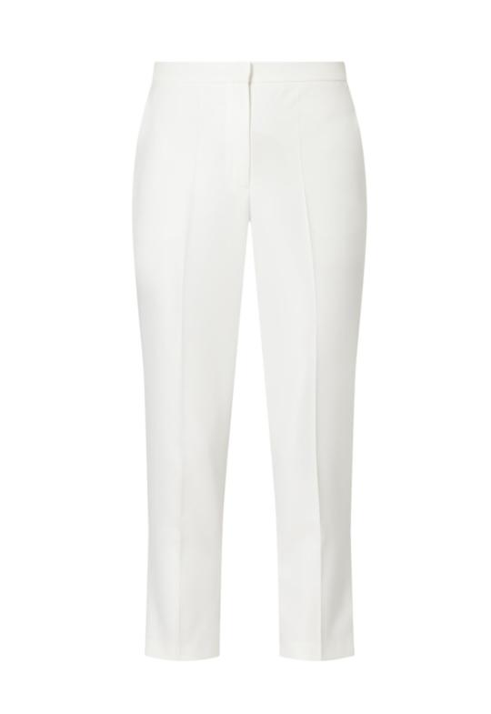 Caroline Kilkenny White Wide Leg Trouser