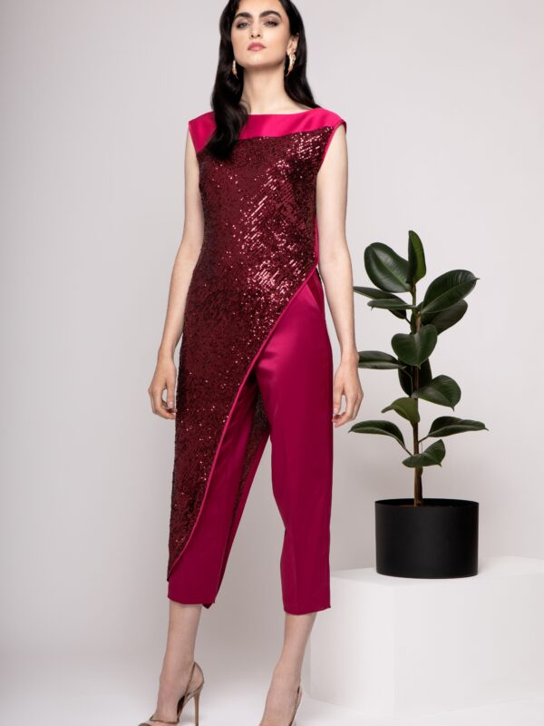 Caroline Kilkenny Zenna Pink Trouser