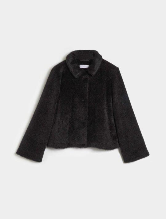 i Blues Black Boxy Jacket