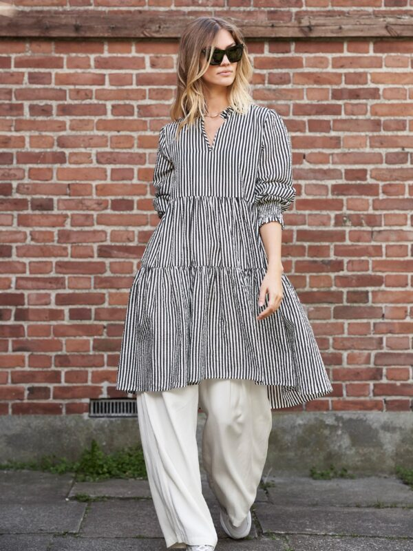 Lolly's Laundry Cotton Striped Shirt Dress