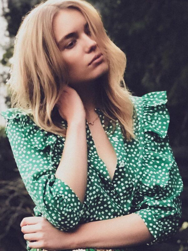 Lolly's Laundry Green Blouse