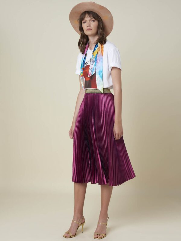 Silvian Heach Pleated Skirt