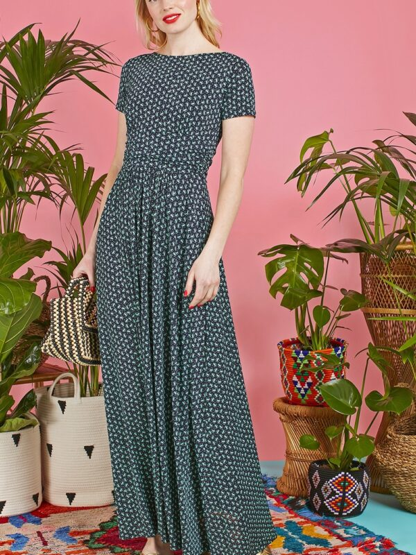 Onjenu Joni Navy Maxi Dress