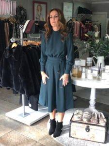 Elisabetta Franchi Pink Belted Dress