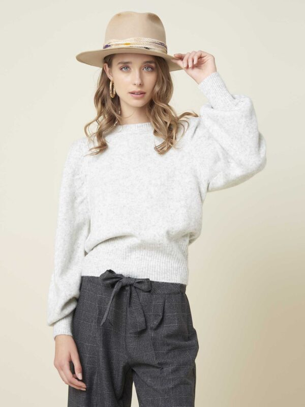 Silvian Heach Grey Sweater