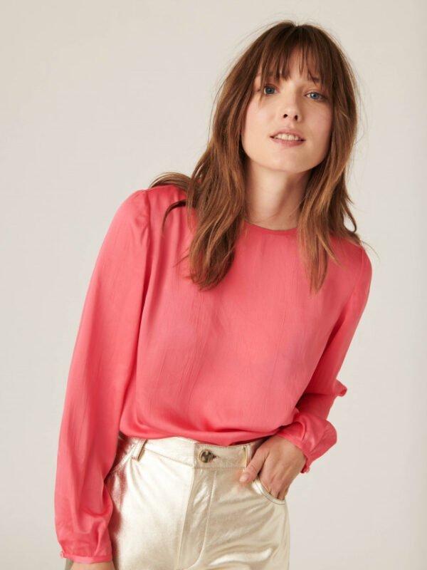 Tara-jarmon-terra-pink-blouse-01