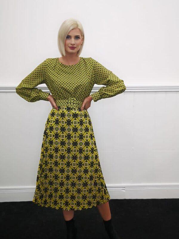 Silvian Heach Printed Midi Dress