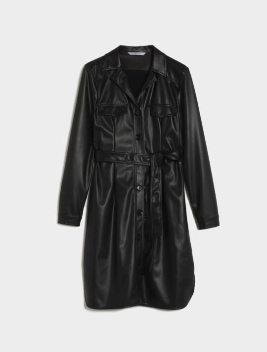 i Blues Istrice Faux Leather Dress