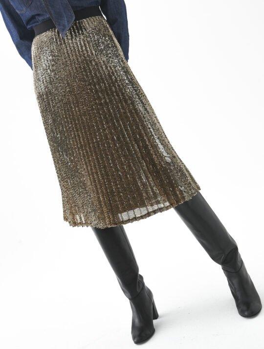 i Blues Lella Sequin Skirt