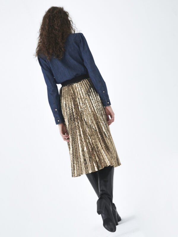 i Blues Lella Sequin Skirt