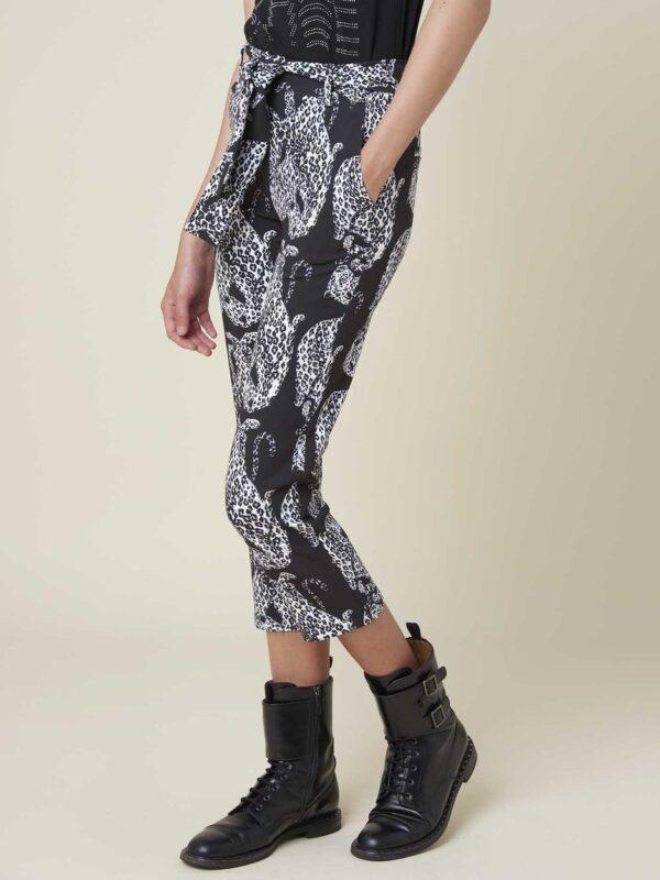 Silvian Heach Leopard Printed Trouser