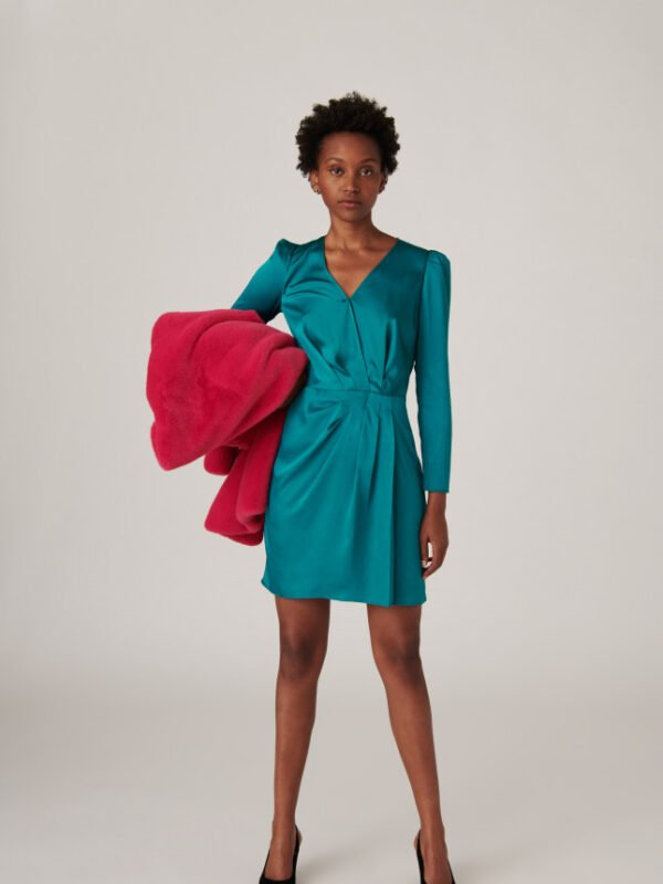 Tara Jarmon Revelyne Mint Dress