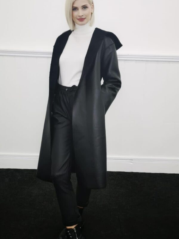 Silvian Heach Black Reversible Coat