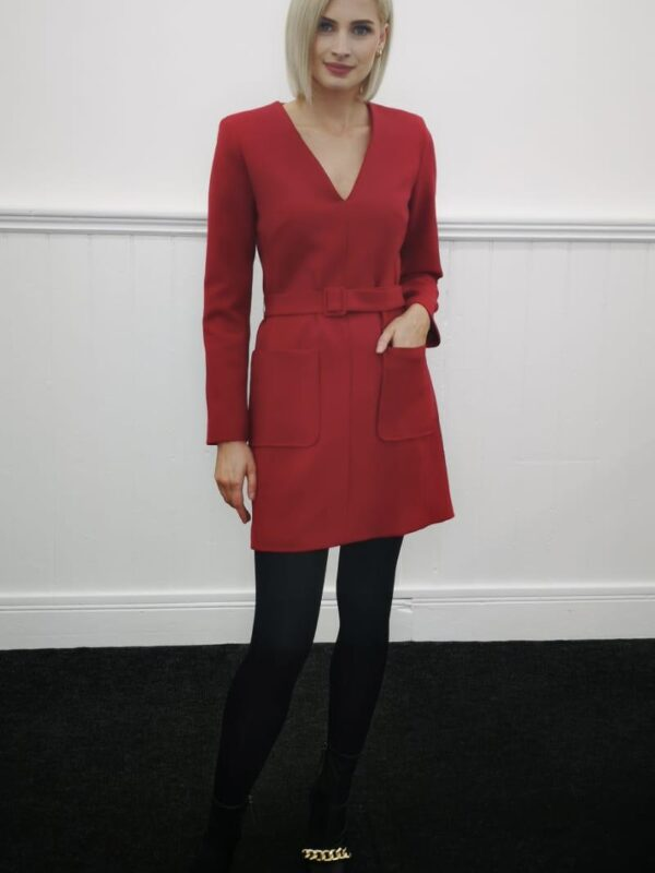 Tara Jarmon Rubina Red Dress