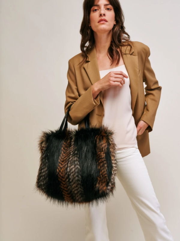 Helen Moore Kersey Bag In Brown Quail