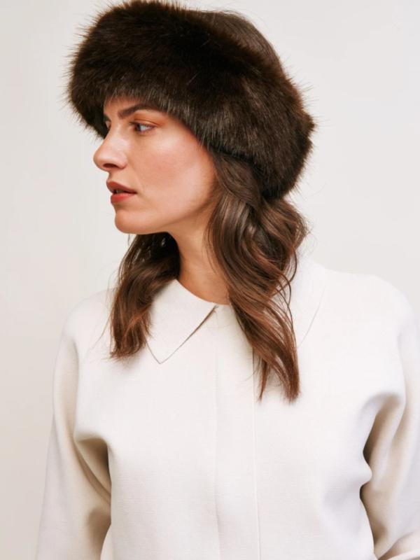 Helen Moore Huff Headband Treacle
