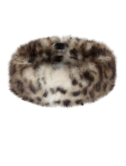 Helen Moore Huff Headband Leopard