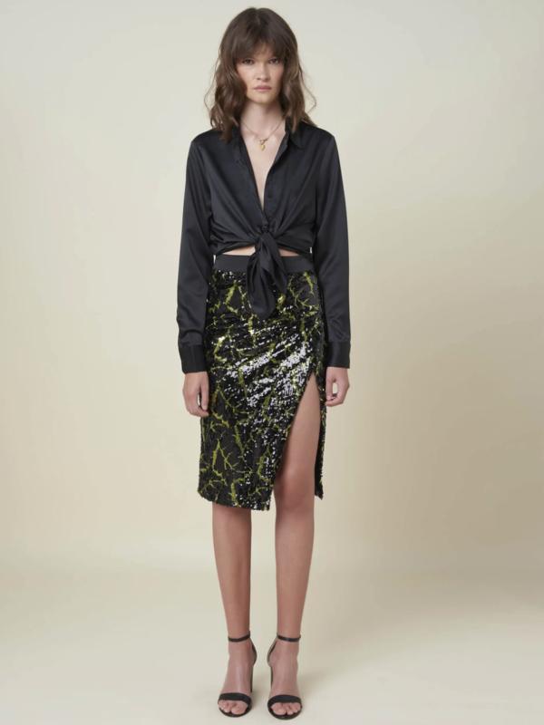 Silvian Heach Sequin Skirt